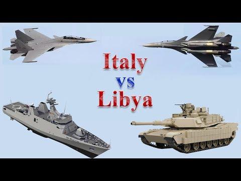 Italy vs Libya Military Comparison 2017