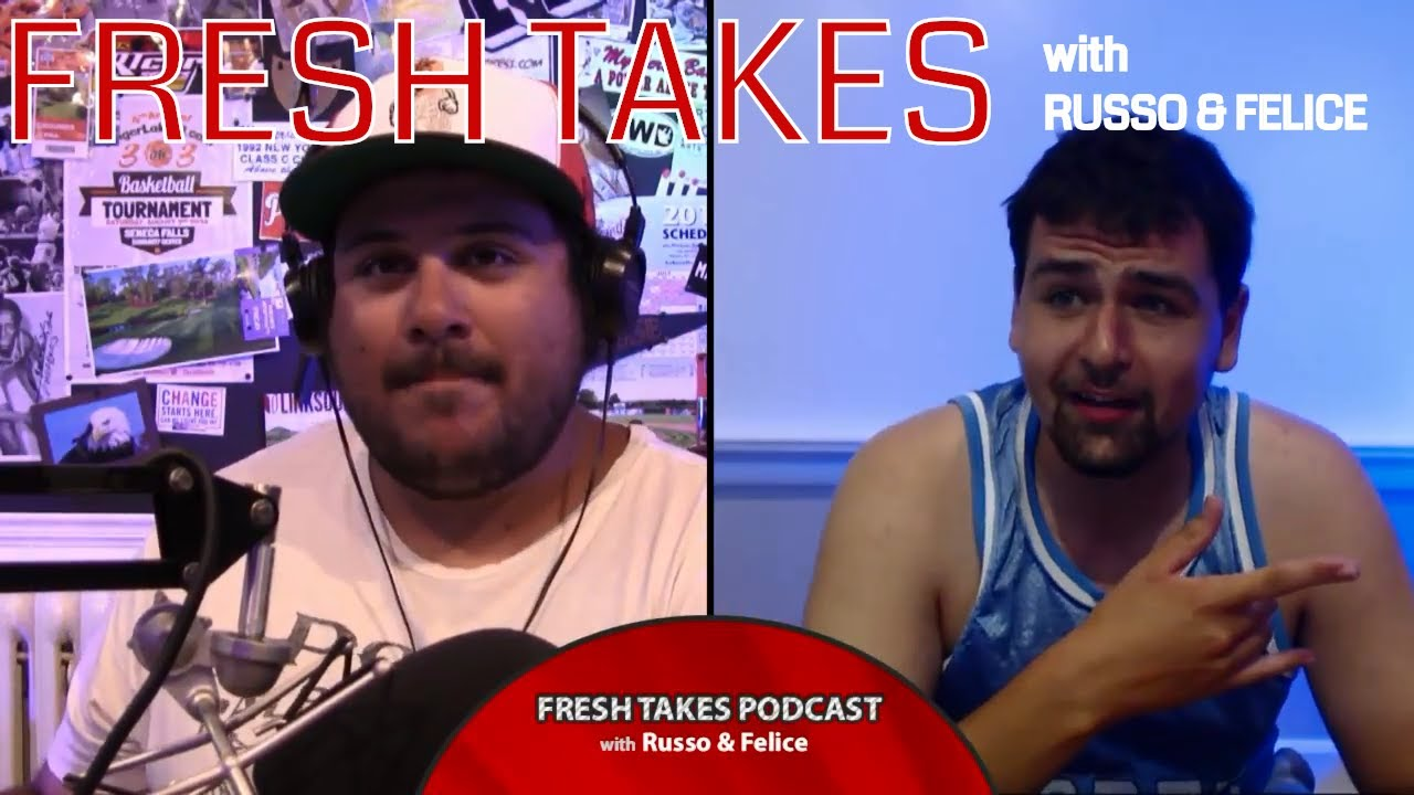 Ohio State reaction, NASCAR at The Glen, PGA Championship & new movies in August .::. Fresh Takes with Russo & Felice 8/7/18