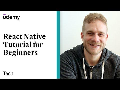 React Native Tutorial For Beginners | Udemy Instructor, Maximilian Schwarzmüller