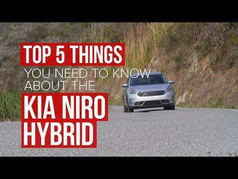 2017 Kia Niro Hybrid: 5 things you should know - Dauer: 71 Sekunden