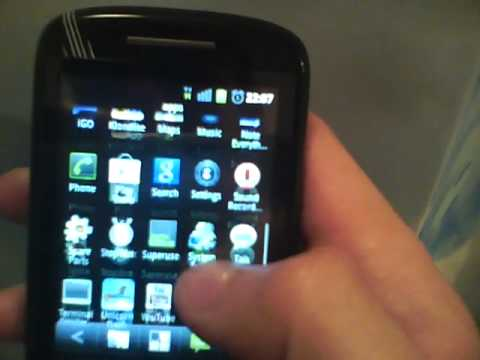 HTC Tattoo running android 2.3.5