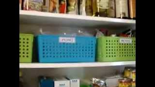 How To Organize A Pantry - Small Pantry