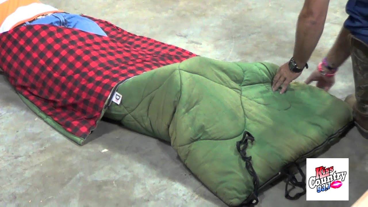 Guy Crawls Into Sleeping Bag Full Of Snakes