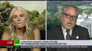 Lauren Southern and Paul Kawika Martin debates on RT International