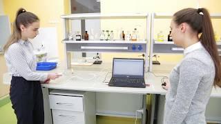 Лабораторная работа по химии в рамках предметной недели