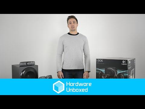 Logitech Z906 5.1 Speaker System: Unboxing and Quick Look