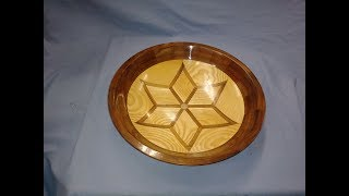 Wood Turning The Segmented Star Bowl