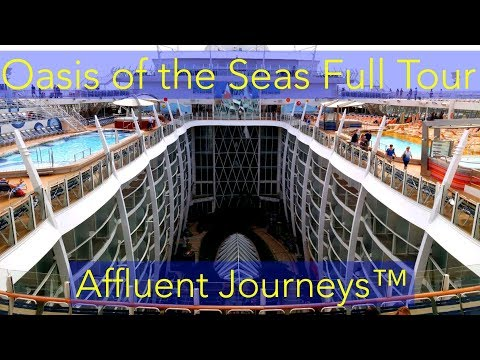 Royal Caribbean Oasis of The Seas Full Tour