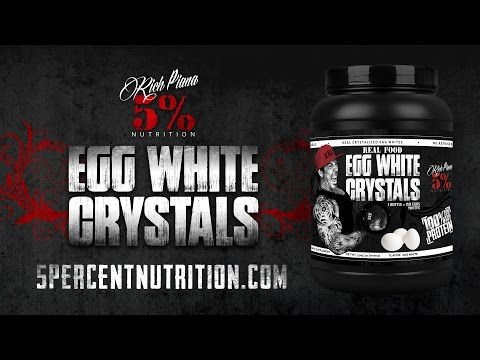 Rich Piana - REAL FOOD Egg White Crystals 100% Protein