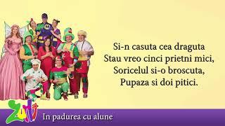 Gasca Zurli - In padurea cu alune (cu versuri - lyrics video) #zurli