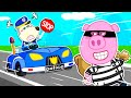 Wolf Family⭐️ Policeman is Here to Help - Wolfoo Pretend Play Professions | Kids Cartoon