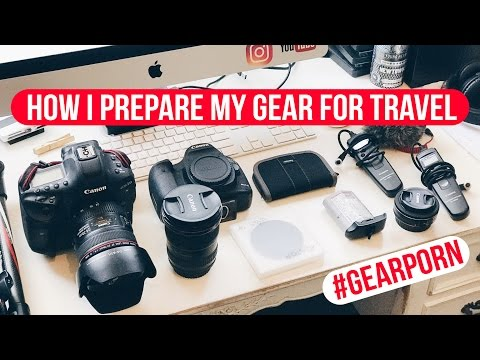 How I prepare my gear for travel
