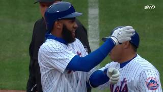 "WATCH: Mets break out a new ""Salt and Pepper Shakers"" celebration!"