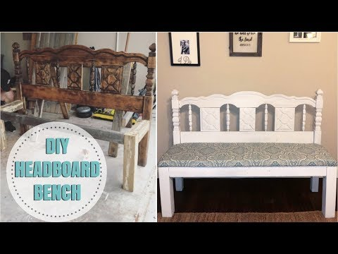 Building a HEADBOARD BENCH! | NUNNERY VLOGS