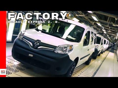 Renault Express Z. E.  Van Factory