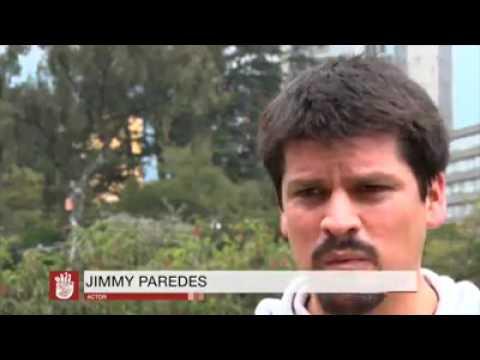 Jimmy Paredes, actor, habla sobre el RUAC