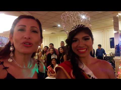Alyson López Miss  Peruvian Cívic Association of New Jersey 2017