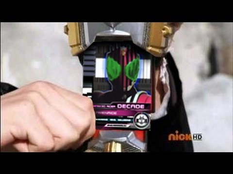 Super Megaforce Opening Kamen Rider Decade Style