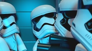 LEGO Star Wars: The Force Awakens (Vita/3DS) - Chapter 1 100% Guide - Assault on Jakku