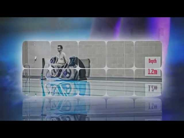 Pool Lift Video - Poolpod - A Modern pool lift for the 21st century