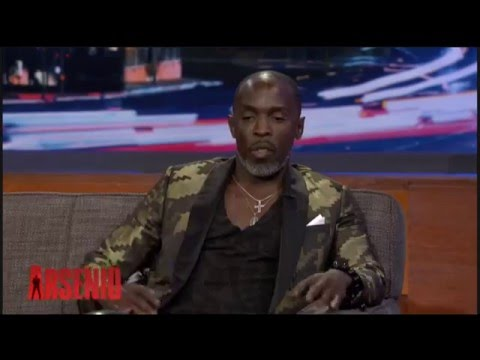 Michael K Williams Interview on the Aresino Hall Show