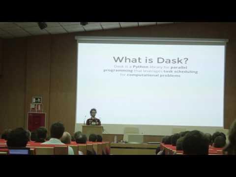 Israel Saeta - Distributed computing with Dask - PyConES 2016
