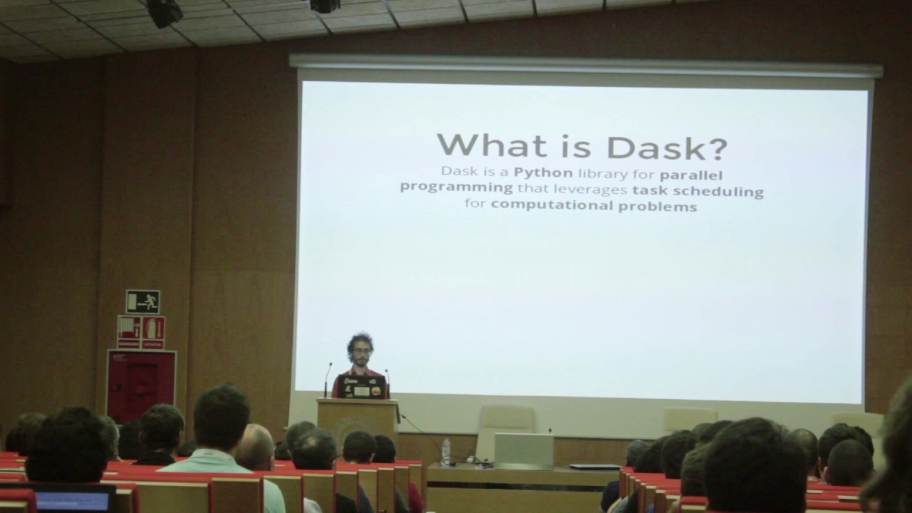 Image from Distributed computing with Dask