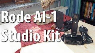 Rode AI-1 Studio Kit – Audio-Interface + Rode NT1 – Das beste Komplett-Set? [Review|Deutsch]