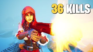 DROPPING 36 KILLS WITH GRONKY (Fortnite Battle Royale Gameplay)
