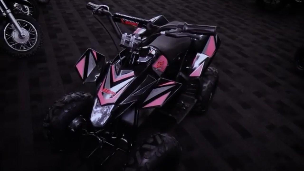 Quick Look: SSR Motorsports ABT-E350 Kids Electric Quad - ChapMoto com