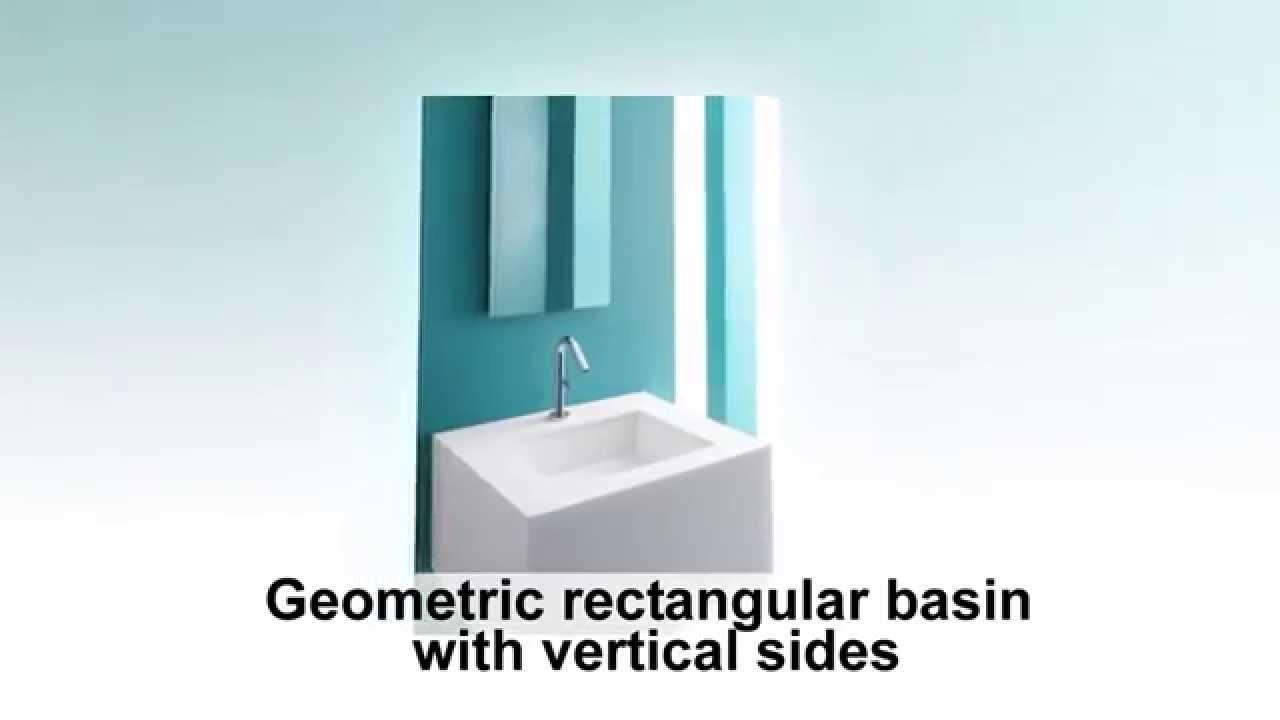 Verticylтў Rectangular Undermount Bathroom Sink K-2882-0 kohler k 2882 0 verticyl rectangle undercounter lavatory reviews