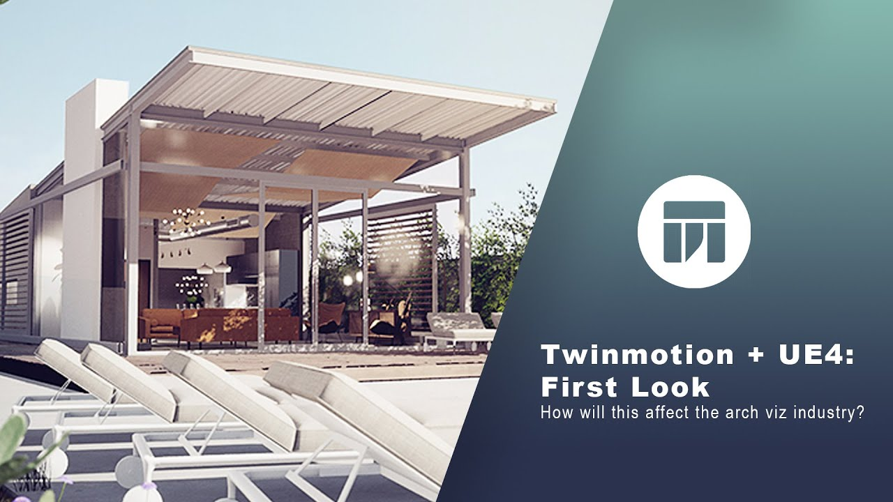 Twinmotion + Unreal Engine: Twinmotion First Look (Now Free)