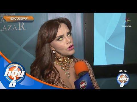 Lucía Méndez ya tiene su tarjeta de la tercera edad   Hoy