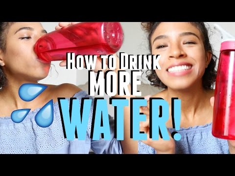21 Ways to Drink More WATER!