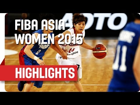Japan v Chinese Taipei - Game Highlights - Semi Final - 2015 FIBA Asia Women's Championship