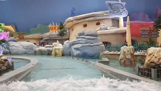 The Flintstones:Bedrock River Adventure. Warner Bros. world in Abu Dhabi