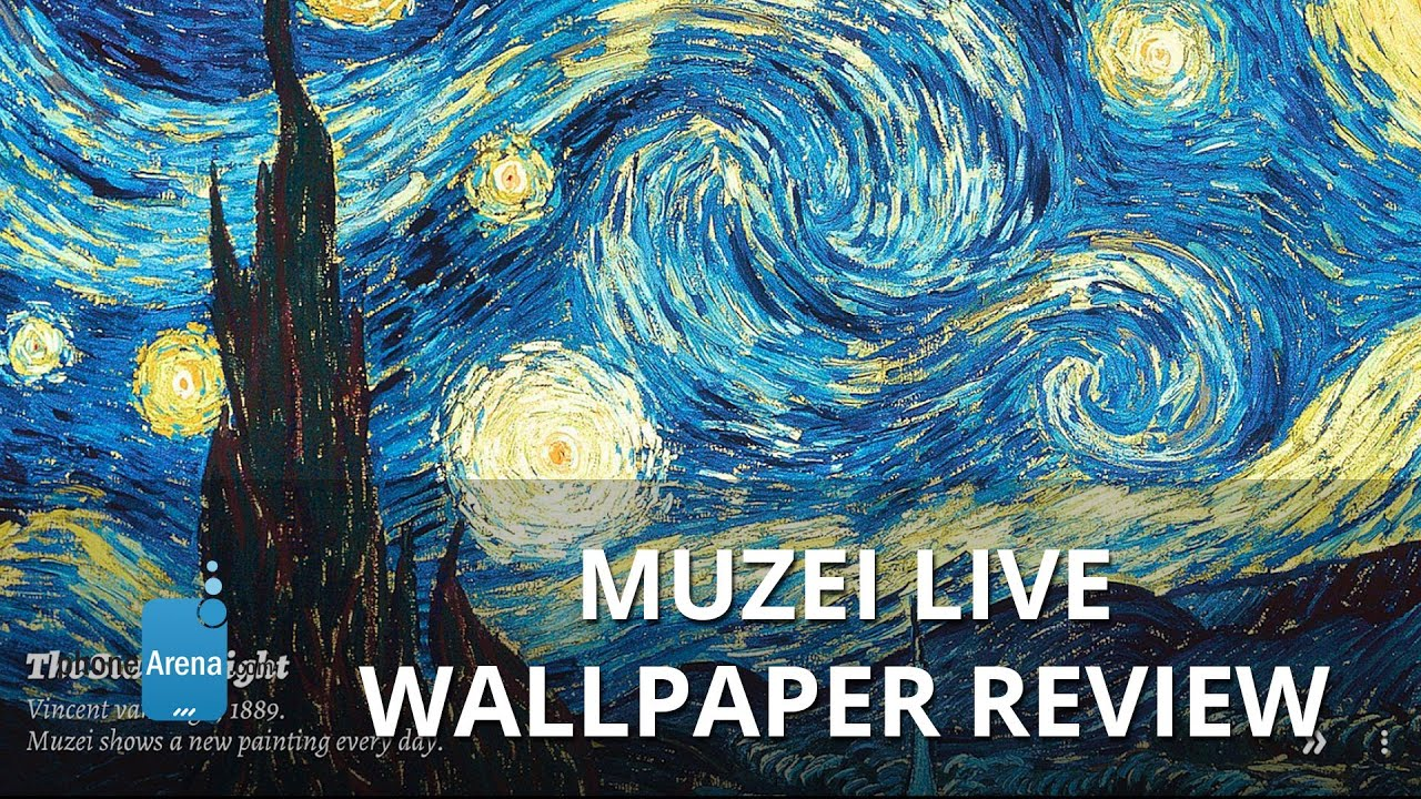 Muzei Live Wallpaper Review - YouTube
