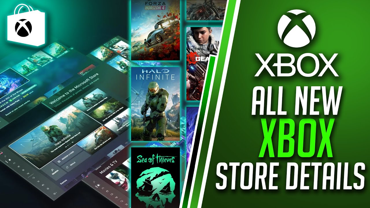 ALL NEW Xbox Store Experience for Xbox Series X Detailed | Xbox Dashboard Update 2020