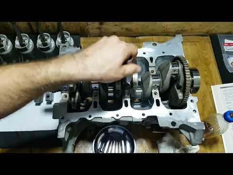 Сборка блока двигателя HYUNDAI KIA G4FC