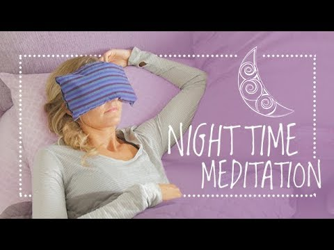 Easy & Quick Night Time Guided Meditation Before Sleep (10-min) Bedtime Yoga