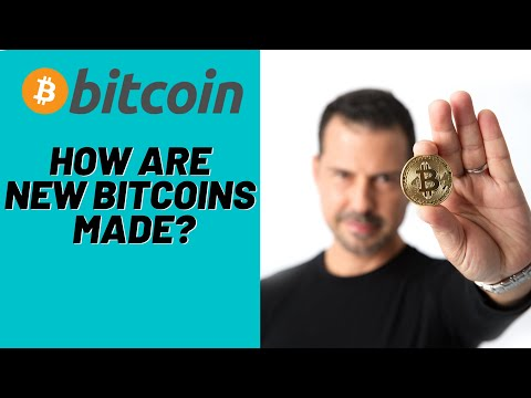 How Are New Bitcoins Made - George Levy