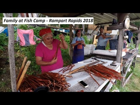 Family Life At Fish Camp On The Yukon River - Summer 2018 - Stan Zuray