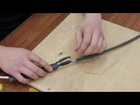 Монтаж соединительной и концевой муфт на кабель
