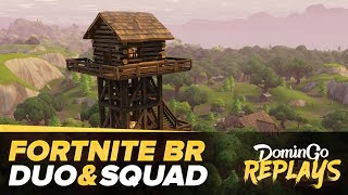 Duo & Squad (Doigby, BRK & Théo) en BR sur Fortnite