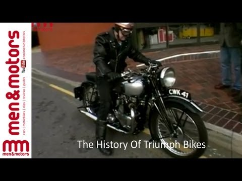 The History Of Triumph Bikes