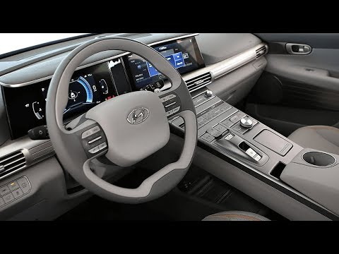 2019 Hyundai Nexo Fuel Cell Interior And Exterior Youtube