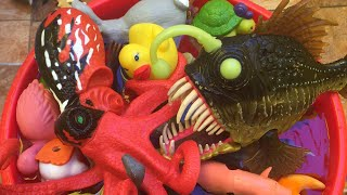 Learn Names of Sea Animals, Farma Animals, Zoo Animals and Dinosuars Toys for Kids