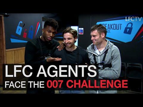 Sturridge, Milner and Allen take on 007 challenge