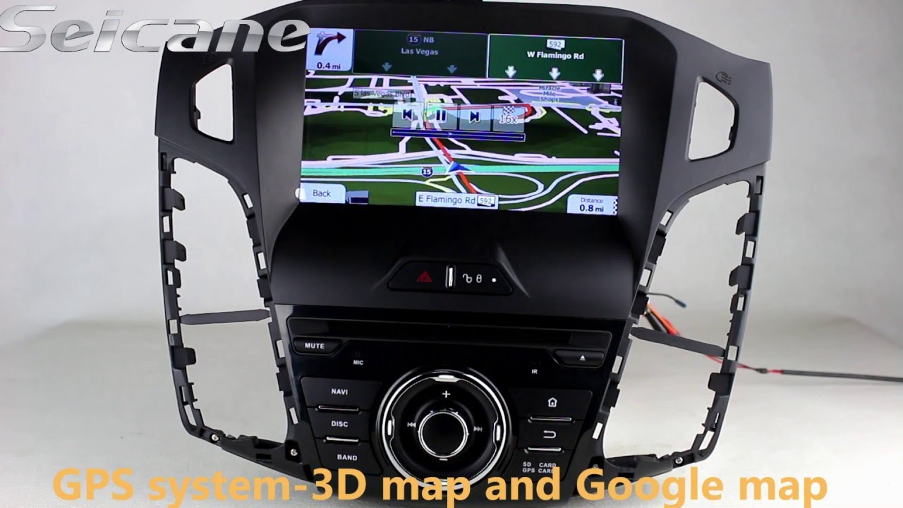 2012 2013 ford focus dvd bluetooth gps radio android 4 4. Black Bedroom Furniture Sets. Home Design Ideas