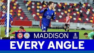 EVERY ANGLE | James Maddison vs. Brentford | 2020/21